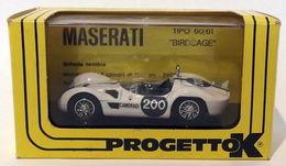 PROMO PROGETTO K MASERATI BIRDCAGE TARGA FLORIO 1961 PK 025 NEW 1/43 Box (01) - Automobili