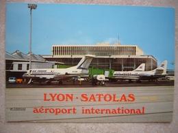 Avion / Airplane / AIR FRANCE / Fokker 100  / Seen At Lyon - Satolas Airport - 1946-....: Ere Moderne