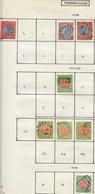 14368 VICTORIA Collection Vendue Par Page Taxe 1, 2a, 3, 12a/4a, 23    1890-1906   B/TB - Postage Due