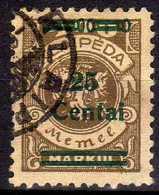 Memel / Klaipeda 1923 Mi 220, Gestempelt [260819VII] - Memelgebiet