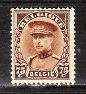 341**  Albert En Casquette - Bonne Valeur - MNH** - COB 6.50 - Vendu à 12.50% Du COB!!!! - Belgium
