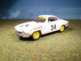 ALFA ROMEO GIULIETTA SPRINT SPECIALE TARGA FLORIO 1963 N.34 BLISTER RCS (0900) - Best Model