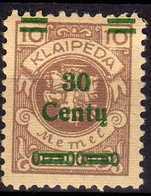 Memel / Klaipeda 1923 Mi 222 * [260819VII] - Memelgebiet