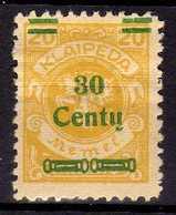 Memel / Klaipeda 1923 Mi 223 * [260819VII] - Memelgebiet