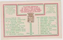 Padova E Provincia, 6 Marzo 1913, Ai Figli Gloriosamente Caduti - F.p. - Anni '1910 - Monumenti Ai Caduti