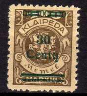 Memel / Klaipeda 1923 Mi 228 * [260819VII] - Memelgebiet