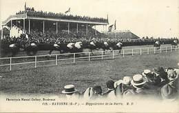 - Dpts Div -ref-AL311- Pyrenées Atlantiques - Bayonne - Hippodrome De La Barre - Champ De Courses - Hippisme - Sports - - Bayonne