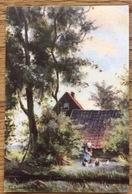 Nederland, Farmhouse, Boerderij, Bauernhof, Ferme, Unused - Schilderijen