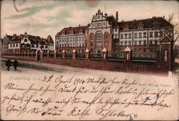 !  Alte Ansichtskarte Altenburg, Seminar, 1904 - Altenburg