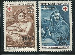 REUNION CFA: **, N° YT 388 Et 389, TB - Reunion Island (1852-1975)