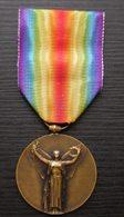 Médaille Signée Morlon: La Grande Guerre Pour La Civilisation 1914 1918, Voir Photo ! - 1914-18
