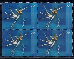 """Argentina - 2001 - Ballet - Jour Du Danseur - Scène De Ballet """"Apollon Musagète"""" D'Igor Stravinsky - Argentinië"""