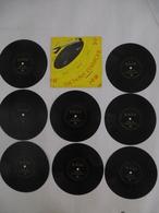 SACHONS COMPTER : Microsillon 33 T Format EP - LOT De 8 Disques Souple - Editions MAGNARD - Détails Sur Les 2 Scans. - Spezialformate