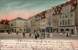 !  Alte Ansichtskarte Altenburg, Markt, 1904 - Altenburg