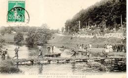 Saint Etienne - Exercices De Passage De Rivière Par Le 5e BCP - Saint Etienne De Remiremont