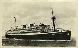 RPPC Johan Van Oldenbarnevelt - Passagiersschepen