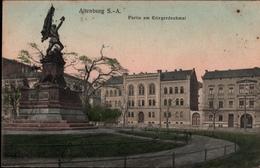 !  Alte Ansichtskarte Altenburg, Kriegerdenkmal - Altenburg
