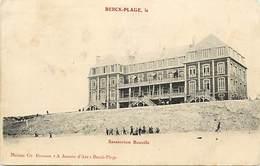 - Dpts Div -ref-AL304- Pas De Calais - Berck Plage - Sanaotrium Bouville - Sanatoriums - Santé - - Berck