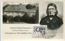 46932 Germany Ddr, Maximum 1957  Friedrich Frobel  Kindergarten Mi-585 - [6] Repubblica Democratica