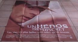 AFFICHE CINEMA ORIGINALE FILM UN HEROS TRES DISCRET Jacques AUDIARD Mathieu KASSOVITZ 1996 TBE - Affiches & Posters