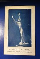 Camaiore Monumento Cantico Del Sole Viag1928 - Lucca