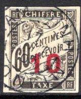 Indo-China 1905 10 On 60c Postage Due Fine Used. - Indochina (1889-1945)