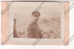 Carte Photo WW1:  Sous Officier Allemand (épaulettes N° 9 Inf. Div ?) Königreich Bayern Postkarte - Oorlog 1914-18