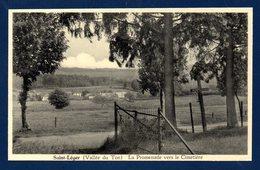 Saint-Léger. Vallée Du Ton. La Promenade Vers Le Cimetière - Saint-Léger