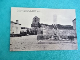 ROUILLAC Et Ses Environs - ANVILLE _ Eglise Et Monument Aux Morts - TBE - Francia