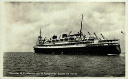 RPPC  St. Marnix Van St. Aldegonde N.B N.V. Nederlandse Stoomvaartmaatschappij - Passagiersschepen