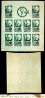 BRAZIL 1938 INTL PHILATELIC EXHIBITION IMPERF GOOD MINT SHEET #465 VALUE $ 20 - Blocs-feuillets