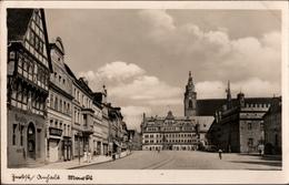 !  Alte Ansichtskarte Zerbst, Markt, 1935, Anhalt - Zerbst