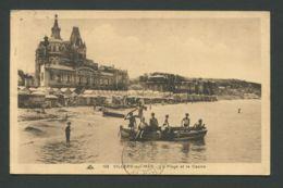 CPA  14  CALVADOS  -  VILLIERS-SUR-MER  La Plage Et Le Casino - Villers Sur Mer