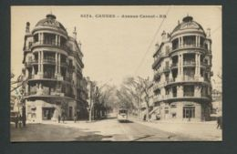CPA  06  ALPES-MARITIMES  -  CANNES  Avenue Carnot - Cannes