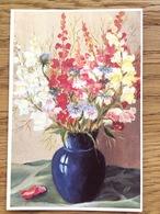 E. Macho Feet Painter, Flowers Blumen Bloemen Fleurs Flores Fiori, Unused - Schilderijen