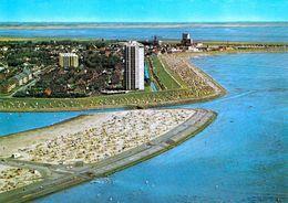 1 AK Germany / Schleswig-Holstein * Blick Auf Das Nordseeheilbad Büsum - Luftbildaufnahme * - Buesum
