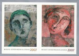 ID.- De Spiritualiteit Van WISNU SASONGO. INDONESIË. Missie Zendingskalender 2007. - Schilderijen