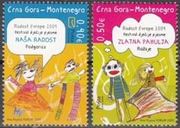 Montenegro 2009 Michel 220 - 221 Neuf ** Cote (2010) 1.80 Euro Dessins D'enfants - Montenegro