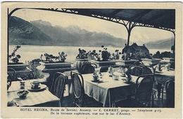 74   Annecy Hotel Regina  C Carret Prprietaire  De La Terrasse Superieur - Annecy