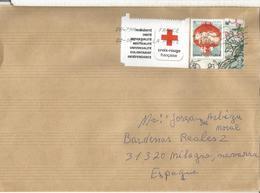 FRANCIA CC SELLO CRUZ ROJA RED CROSS - Cruz Roja