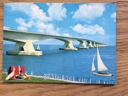 Nederland, De Zeelandbrug Brücke Bridge Brug Pont Puente Ponte, Unused - Bruggen