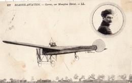 ROANNE AVIATION GARROS SUR MONOPLAN BLERIOT - Roanne
