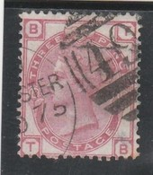 GB - 3 Pence - Yvert N° 51 - Planche 18 (1873) - Oblitérés