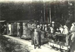 57 - CHEMIN DE FER D'ABRESCHVILLER VERS 1930 - REPRODUCTION - France