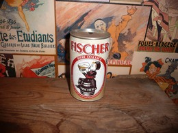 Canette Cans Beer Bière 33 Cl  FISCHER Alsace - Cannettes