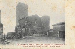 Les Arcs (Var) - Porte Du Château Des Villeneuve (où S'est Accompli Le Miracle Des Pains Changés En Fleurs) - Les Arcs