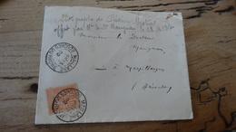 Enveloppe écrite Par Frédéric Mistral, Voir Scan, Pas De Courrier - Documents Historiques