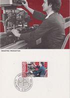 Liechtenstein 1984 Industrie / Produktion 1v Maxicard (44395) - Maximumkaarten