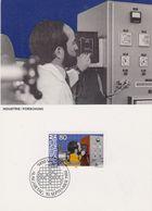 Liechtenstein 1984 Industrie / Forschung 1v Maxicard (44395A) - Maximumkaarten
