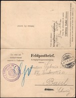 Germany / Holland, POW Letter Card / Feldpostbrief - Kriegsgefangenenlager Limburg (Lahn) 18.5.1915 - Basel. - Cartas